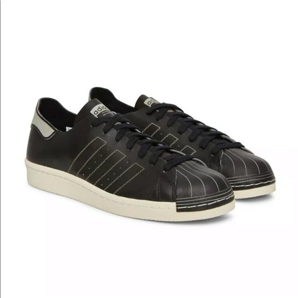 adidas Other - Adidas Superstar 80s Decon Black Leather Sneakers